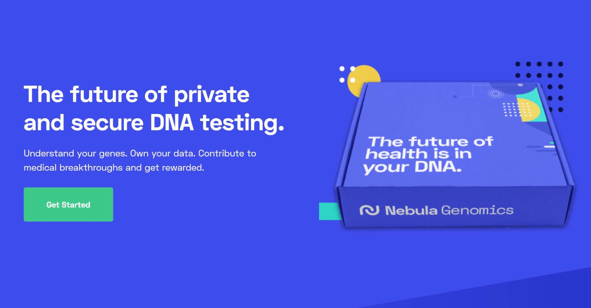 Get Paid for Your DNA, and Better The World Doing It